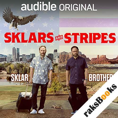 Sklars and Stripes audiobook cover art