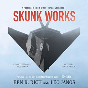 Skunk Works audiobook cover art