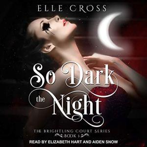 So Dark the Night audiobook cover art