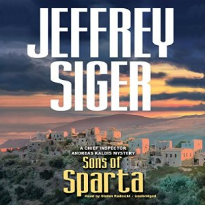 Sons of Sparta audiobook cover art