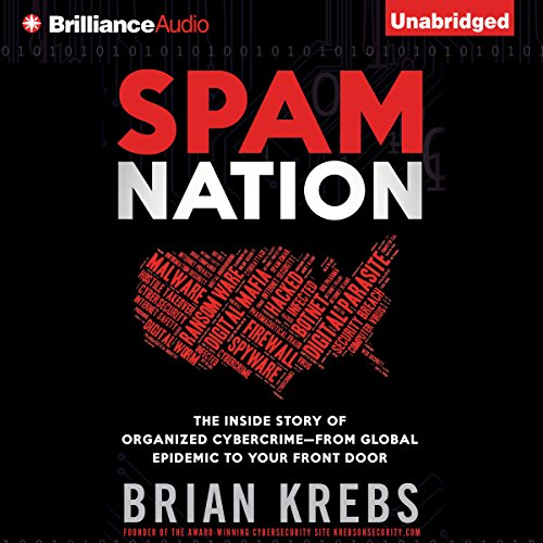 Spam Nation audiobook cover art