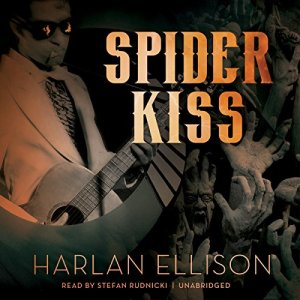 Spider Kiss audiobook cover art