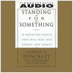 Standing for Something audiobook cover art