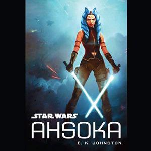 Star Wars: Ahsoka audiobook cover art