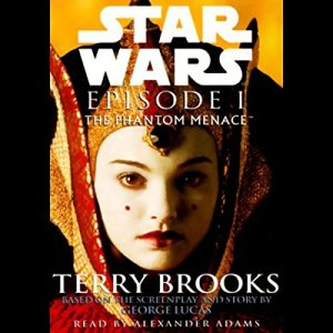 Star Wars Episode I audiobook cover art