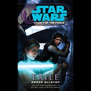 Star Wars: Legacy of the Force #4: Exile audiobook cover art
