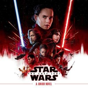 Star Wars: The Last Jedi audiobook cover art