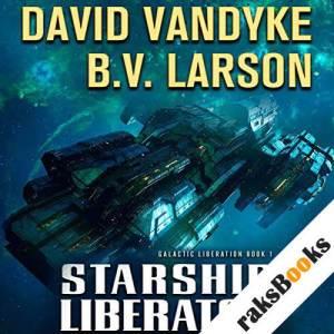 Starship Liberator audiobook cover art