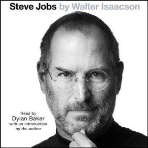 Steve Jobs audiobook cover art