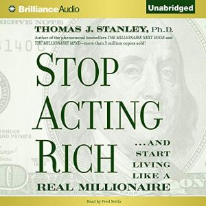Stop Acting Rich audiobook cover art