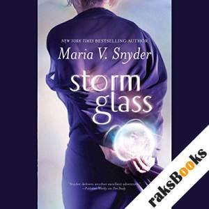 Storm Glass audiobook cover art