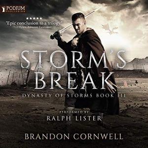 Storm's Break audiobook cover art