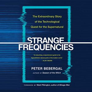 Strange Frequencies audiobook cover art