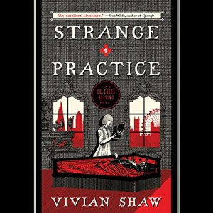 Strange Practice audiobook cover art