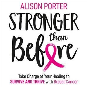 Stronger Than Before audiobook cover art