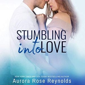 Stumbling Into Love audiobook cover art