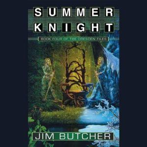 Summer Knight audiobook cover art