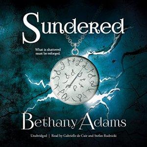 Sundered audiobook cover art