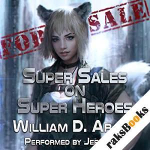 Super Sales on Super Heroes audiobook cover art