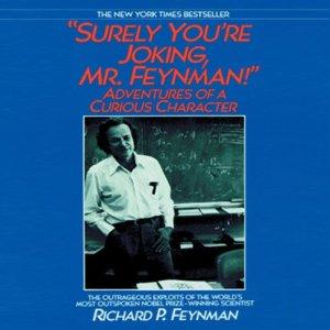 Surely You're Joking, Mr. Feynman! audiobook cover art
