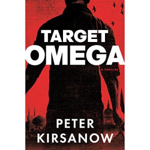 Target Omega audiobook cover art