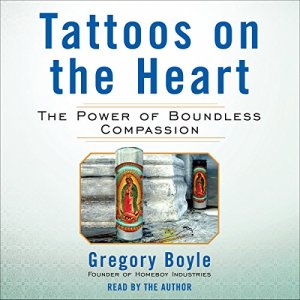 Tattoos on the Heart audiobook cover art