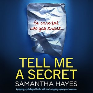 Tell Me a Secret audiobook cover art
