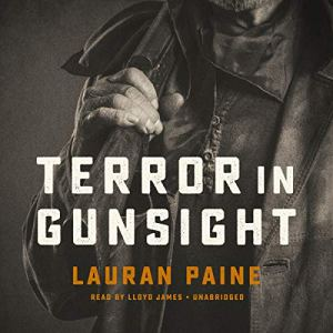 Terror in Gunsight audiobook cover art