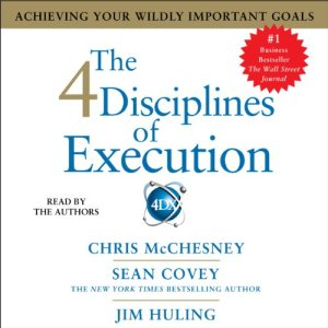 The 4 Disciplines of Execution audiobook cover art
