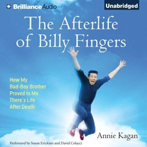 The Afterlife of Billy Fingers audiobook cover art