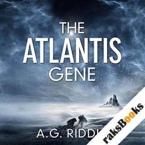 The Atlantis Gene audiobook cover art