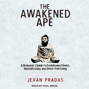 The Awakened Ape audiobook cover art