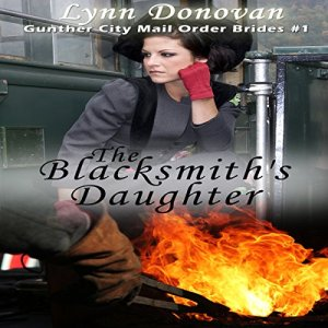 The Blacksmith's Daughter audiobook cover art