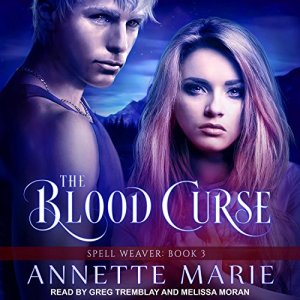 The Blood Curse audiobook cover art