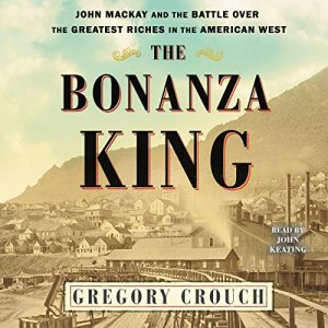 The Bonanza King audiobook cover art