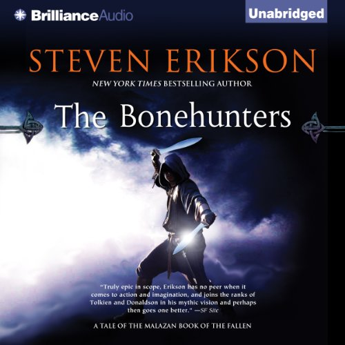 The Bonehunters audiobook cover art