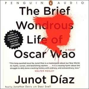 The Brief Wondrous Life of Oscar Wao audiobook cover art