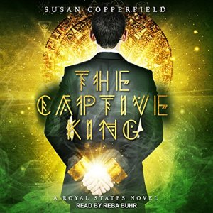 The Captive King audiobook cover art