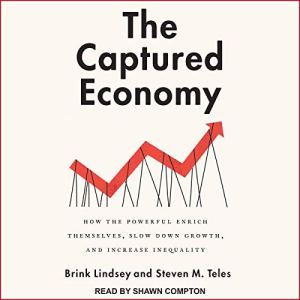 The Captured Economy audiobook cover art