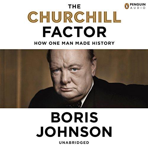 The Churchill Factor audiobook cover art