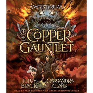 The Copper Gauntlet audiobook cover art