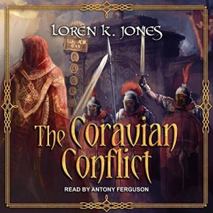 The Coravian Conflict audiobook cover art
