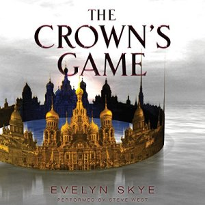 The Crown's Game audiobook cover art