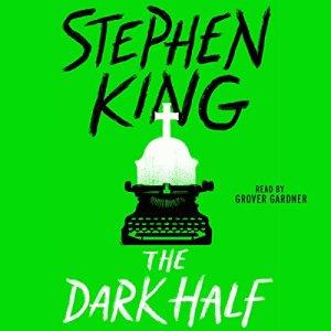 The Dark Half audiobook cover art