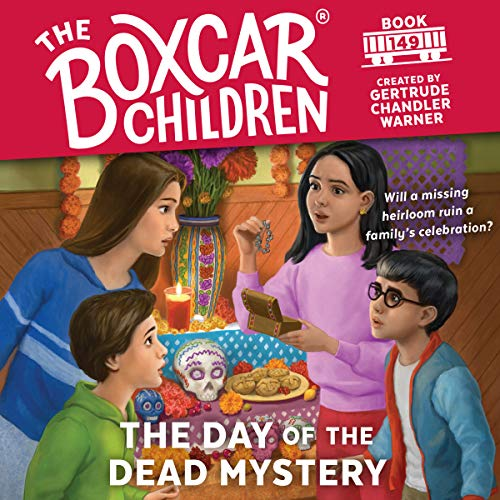 The Day of the Dead Mystery audiobook cover art