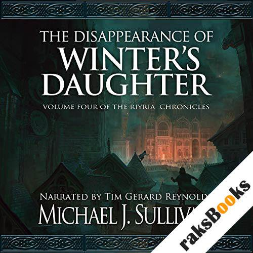 The Disappearance of Winter's Daughter audiobook cover art