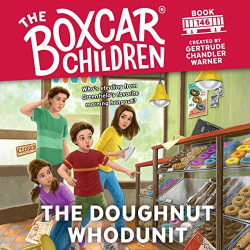 The Doughnut Whodunit audiobook cover art