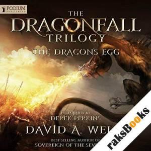 The Dragon's Egg audiobook cover art