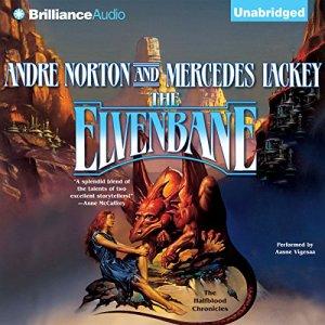 The Elvenbane audiobook cover art