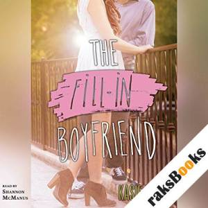 The Fill-in Boyfriend audiobook cover art
